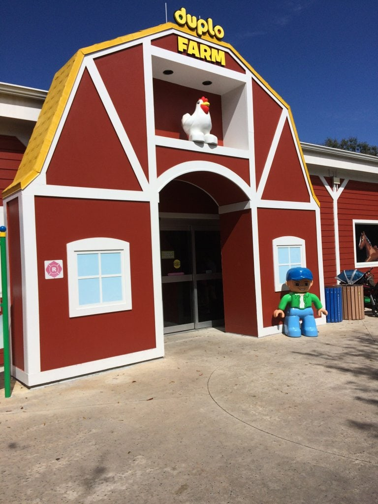 Picture of the Duplo Farm At Legoland Florida
