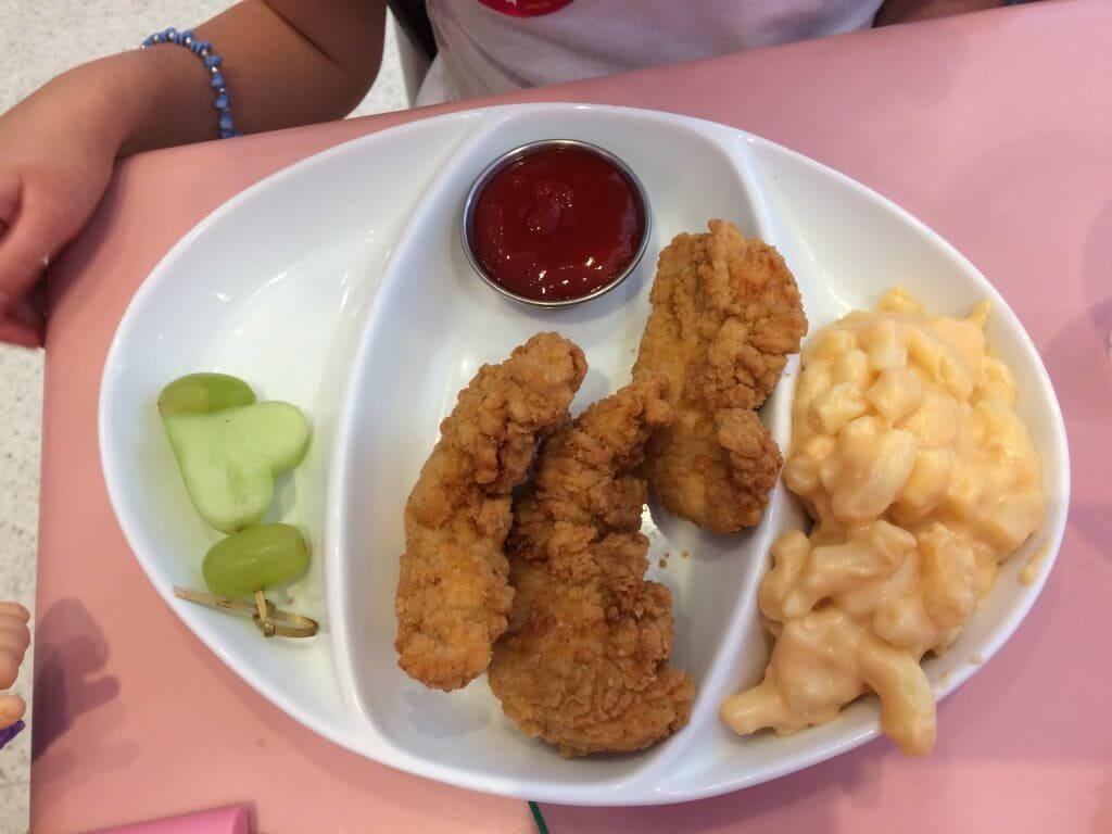 Mac n cheese & chicken