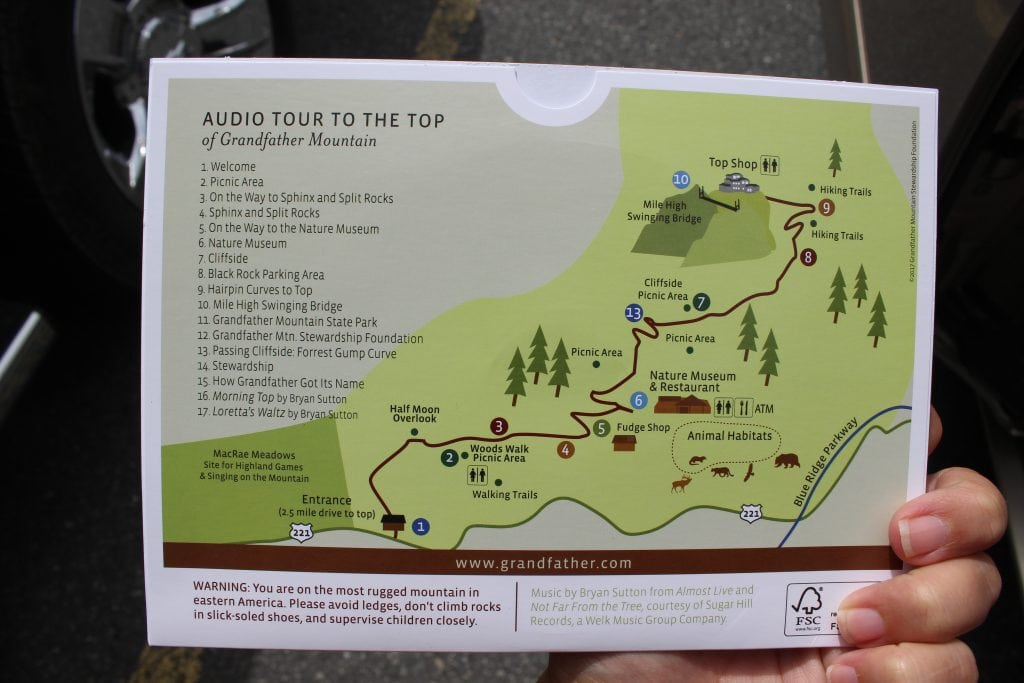 Audio Guide Given To You At Welcome Center