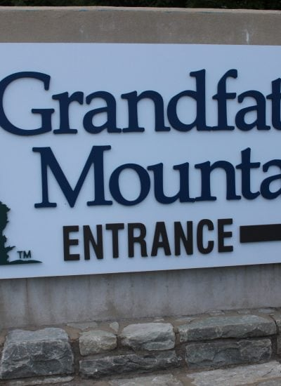 Picture of entrance at Grandfather Mountain