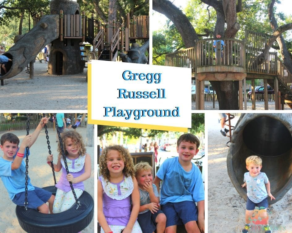 Greg Russell playground at Sea Pines Resort