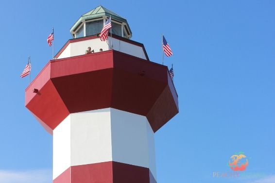 Lighthouse at Harbour Town, Hilton Head South Carolina