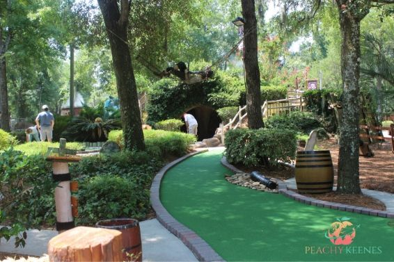 putt putt golf course at Hilton Head Island