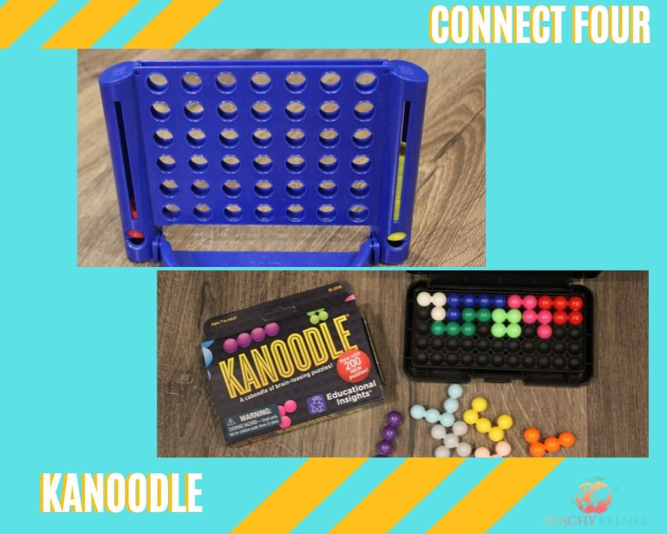 Connect four and kanoodle