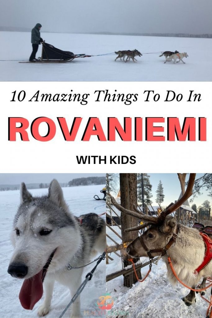 Pinterest Pin for 10 amazing things to do in Rovaniemi
