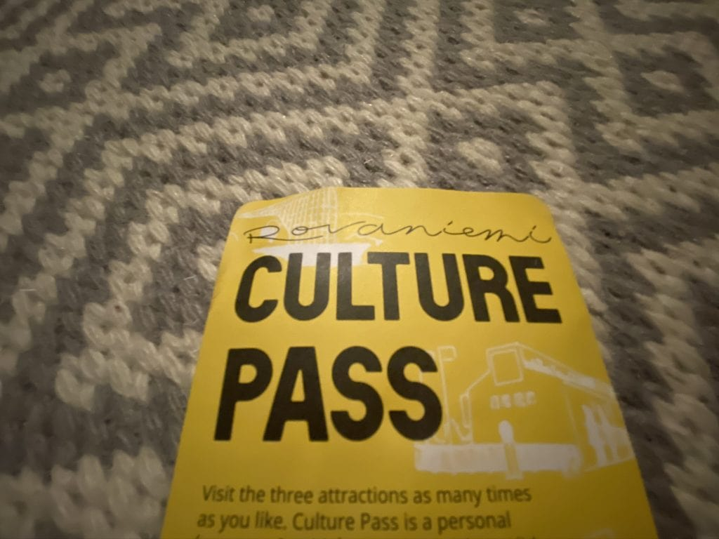 picture of the rovaniemi culture pass