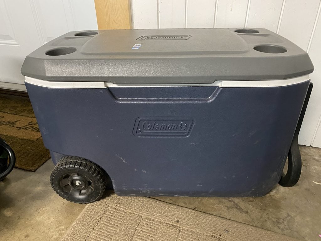 Coleman Cooler: Family Camping Gear