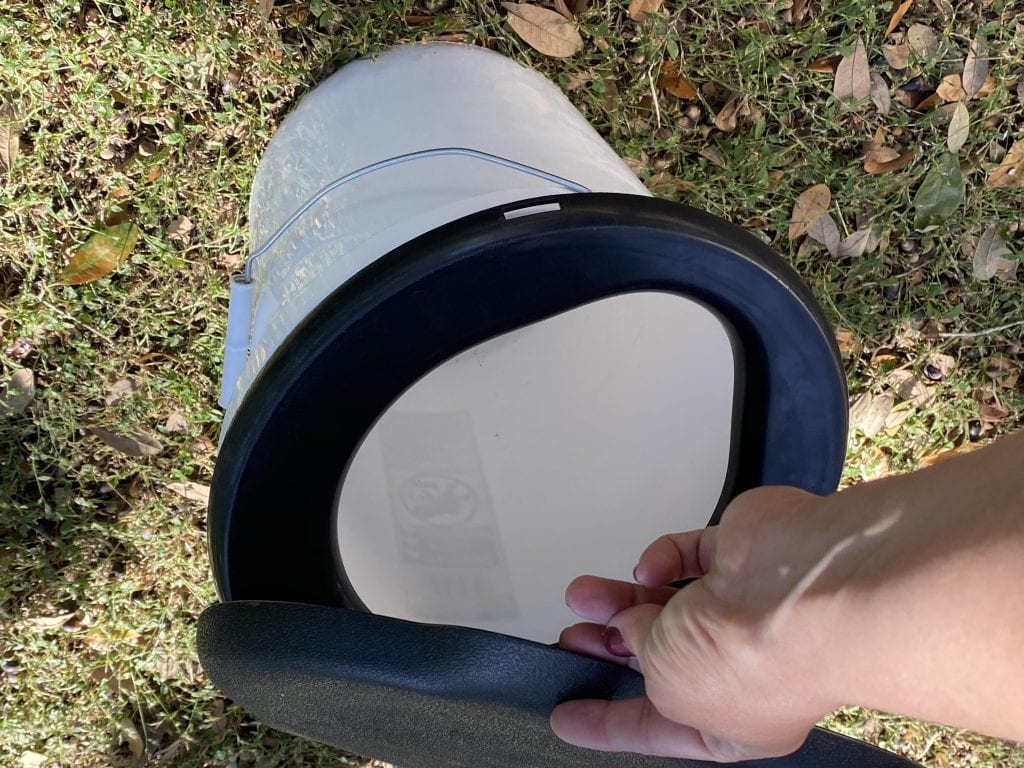 Family Camping Gear: Bucket Toliet