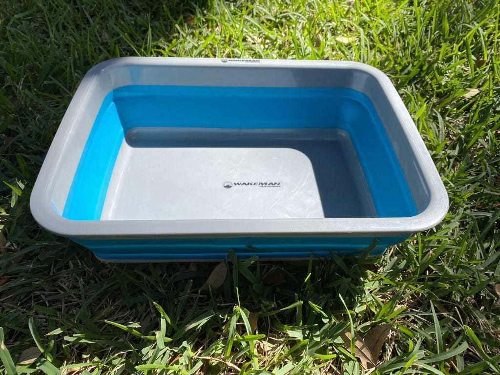 Portable collapsible sink
