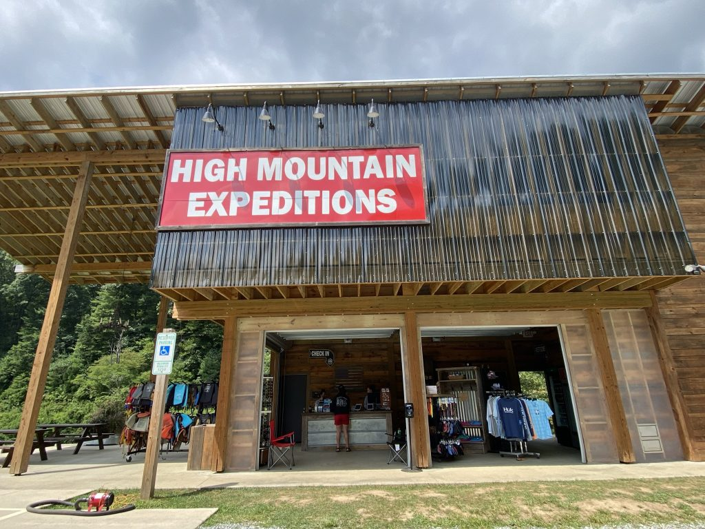 Front of the check in building at High Mountain Expeditions