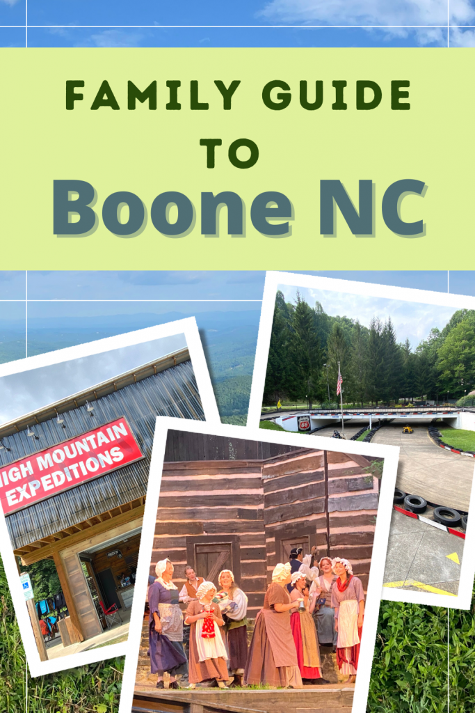 Family Guide to Boone NC